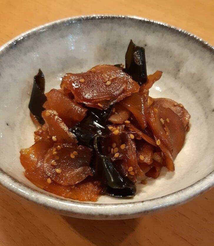 写真:新生姜の佃煮