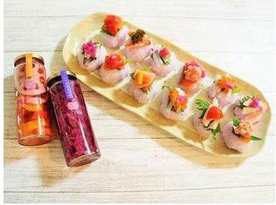 写真:手まり寿司